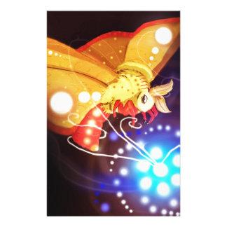 Tourbillion moth customized stationery