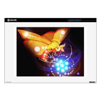 Tourbillion moth laptop skin