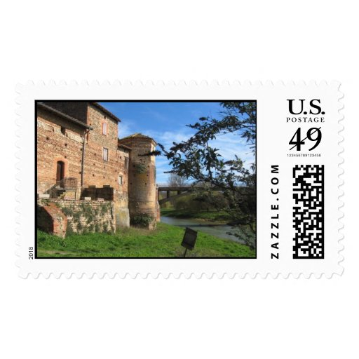 Tourelles, stamp