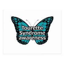 Tourette butterfly postcard