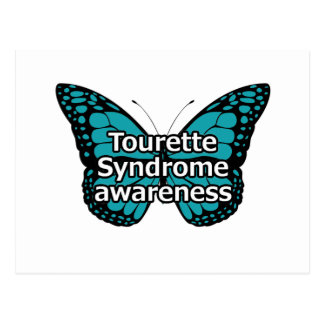 Tourette butterfly postcard
