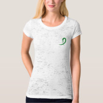 Tourette's Syndrome Green Ribbon A4 T-Shirt
