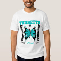Tourette Syndrome Awareness Butterfly T Shirt