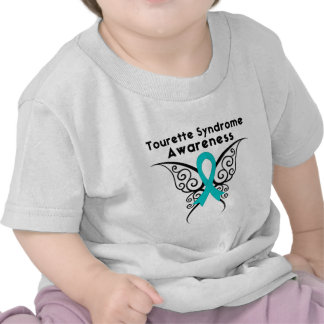 Tourette Syndrome Awareness Tattoo Butterfly Tees