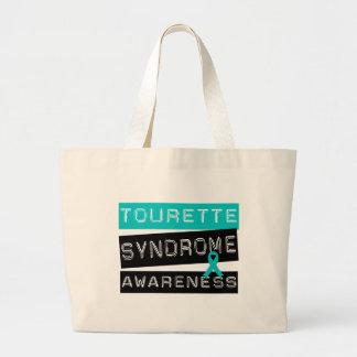 Tourette Syndrome Tote Bags