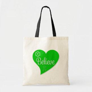 Tourette Syndrome Believe Heart Bag