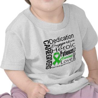 Tourette Syndrome Caregivers Collage Shirts
