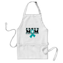 Tourette's Proud Mom Adult Apron