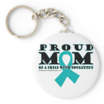 Tourette's Proud Mom Keychain