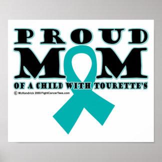 Tourette's Proud Mom Poster