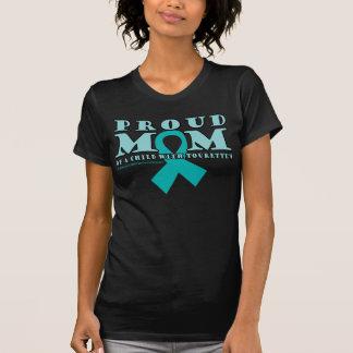 Tourette's Proud Mom T Shirts