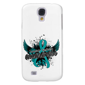 Tourette's Syndrome Awareness 16 (Teal) Samsung Galaxy S4 Cover