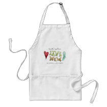 Tourette's Syndrome Awareness Adult Apron