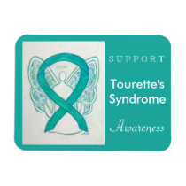 Tourette's Syndrome Awareness Angel Custom Magnet