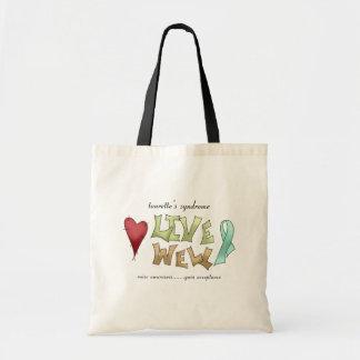 Tourette's Syndrome Awareness Canvas Bag