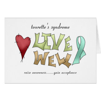 Tourette's Syndrome Awareness Greeting Card