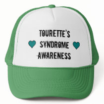 Tourette's Syndrome Awareness Hat