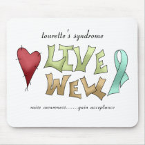 Tourette's Syndrome Awareness Mouse Pad