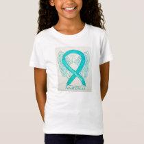 Tourette's Syndrome Awareness Ribbon Angel Shirt