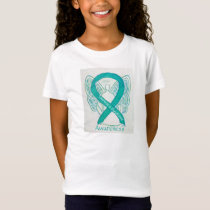Tourette's Syndrome Awareness Ribbon Angel Shirt