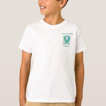 Tourette's Syndrome Awareness Ribbon Angel Tee