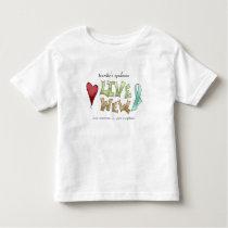 Tourette's Syndrome Awareness Toddler T-shirt