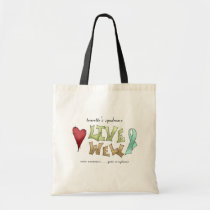 Tourette's Syndrome Awareness Tote Bag