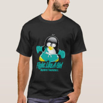 Tourette's Syndrome Fighting Penguin T-Shirt