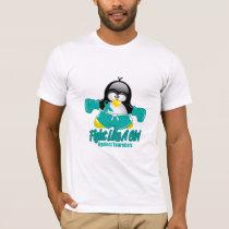 Tourette's Syndrome Fighting Penguin T-Shirt
