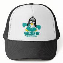 Tourette's Syndrome Fighting Penguin Trucker Hat