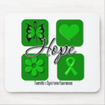 Tourettes Syndrome Hope Love Inspire Awareness Mouse Mat