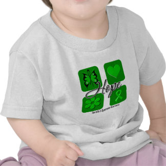 Tourettes Syndrome Hope Love Inspire Awareness T-shirts