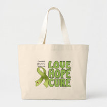Tourettes Syndrome Large Tote Bag