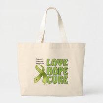 Tourettes Syndrome Large Tote Bag