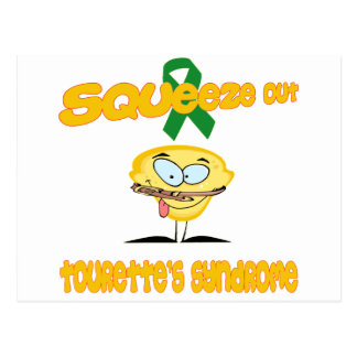 Tourette's Syndrome Postcard