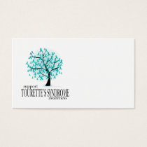 Tourette's Syndrome Tree Business Card