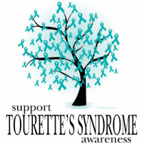 Tourette's Syndrome Tree Cutout