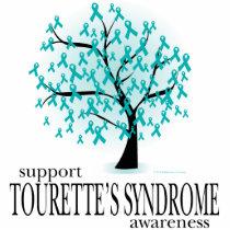 Tourette's Syndrome Tree Cutout