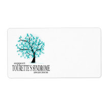 Tourette's Syndrome Tree Label