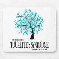Tourette's Syndrome Tree Mouse Pad