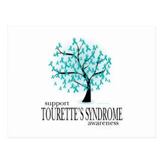 Tourette's Syndrome Tree Postcard