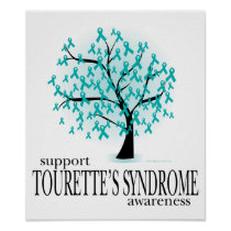 Tourette's Syndrome Tree Poster
