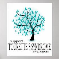 Tourette's Syndrome Tree Poster