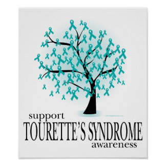 Tourette's Syndrome Tree Posters
