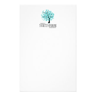 Tourette's Syndrome Tree Stationery