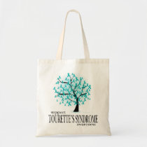 Tourette's Syndrome Tree Tote Bag