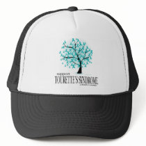Tourette's Syndrome Tree Trucker Hat