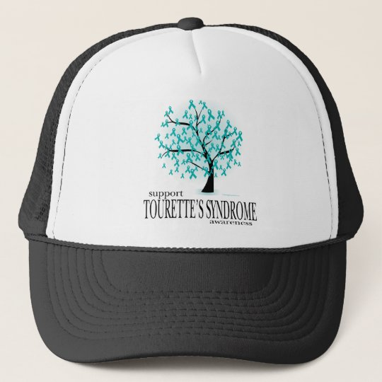 Tourette's Syndrome Tree Trucker Hat