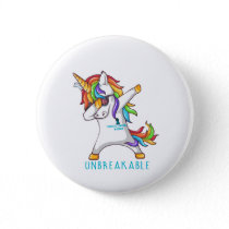 Tourette's Syndrome Warrior Unbreakable Button