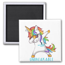 Tourette's Syndrome Warrior Unbreakable Magnet